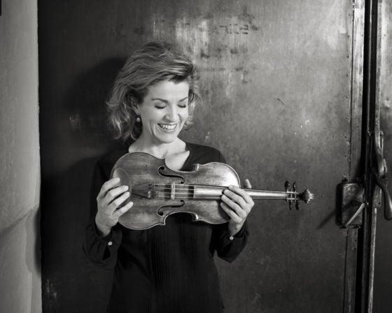 Anne-Sophie Mutter Violinistin Violine