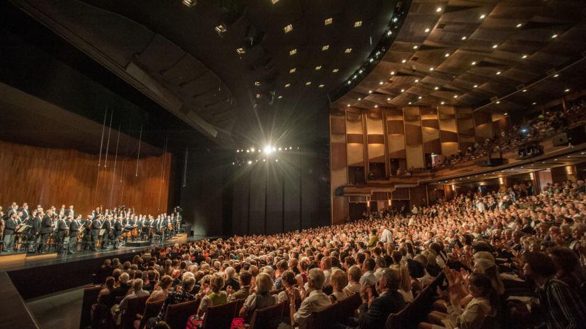Salzburg Festival Grosses Festspielhaus Auditorium