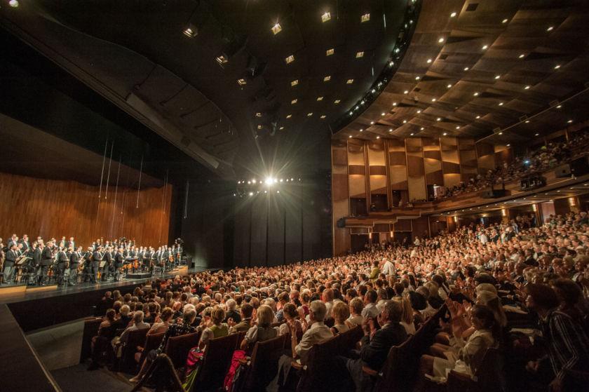 Salzburger Festspiele Großes Festspielhaus Auditorium