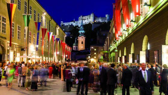 Salzburger Festspiele Hofstallgasse Salzburg