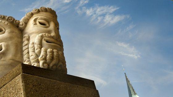 Salzburger Festspiele Masks Hofstallgasse