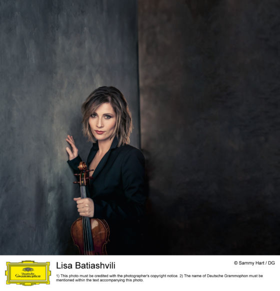 Lisa Batiashvili Violin player