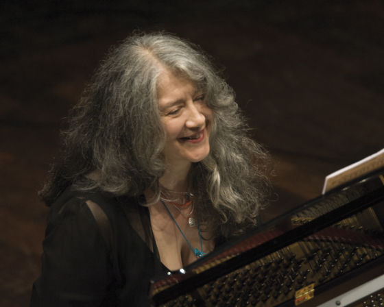 Martha Argerich Piano Player