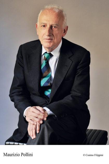Piano player Maurizio Pollini