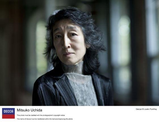 Pianistin Mitsuko Uchida Klavier