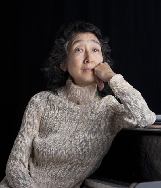 Piano player Mitsuko Uchida