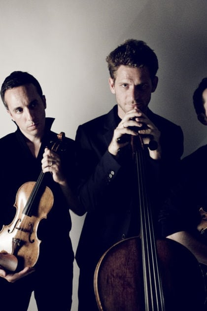Quatuor Ebène string quartet ensemble