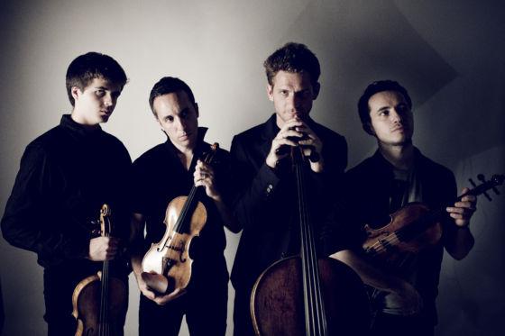 Quatuor Ebène string quartet ensemble