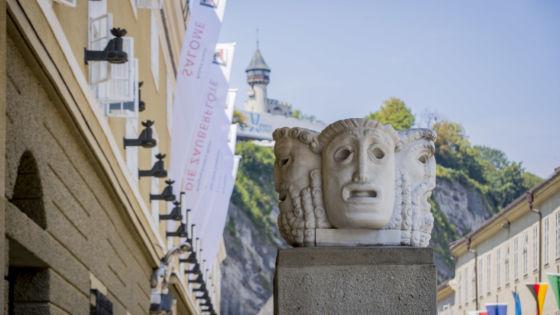 Salzburg Festival Masks Hofstallgasse
