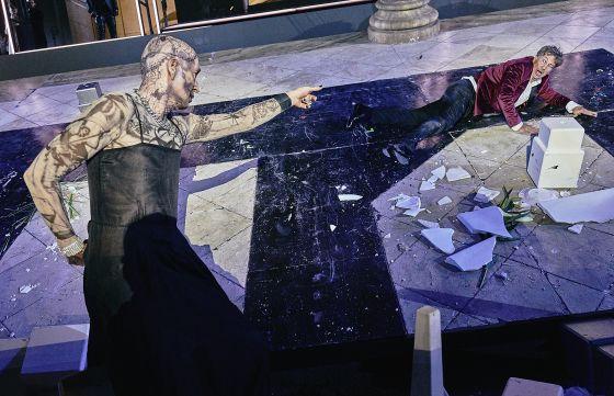 Salzburger Festspiele 2018 Jedermann Peter Lohmeyer Tod Tobias Moretti