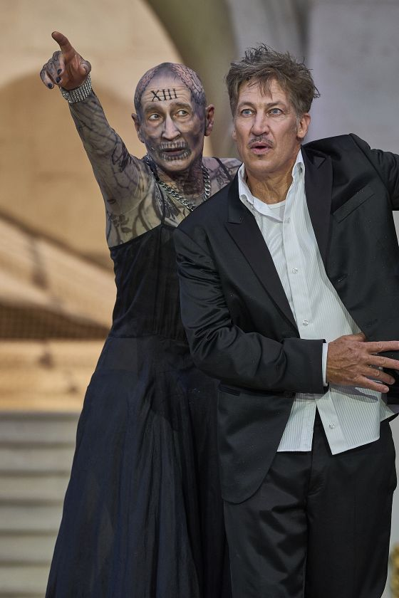 Salzburg Festival 2018 Jedermann Everyman Tobias Moretti Peter Lohmeyer Death
