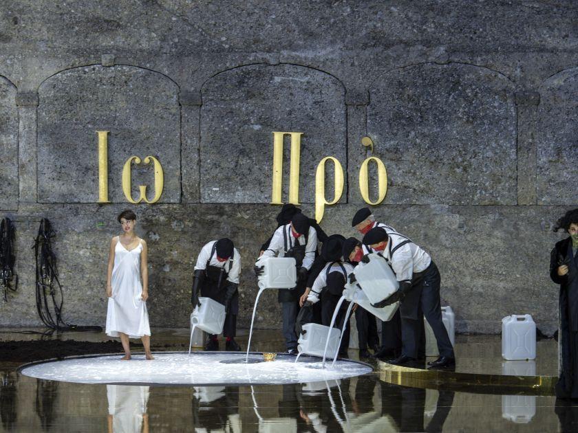 Salzburger Festspiele 2018 Salome Oper Asmik Grigorian Anna Maria Chiuri Ensemble