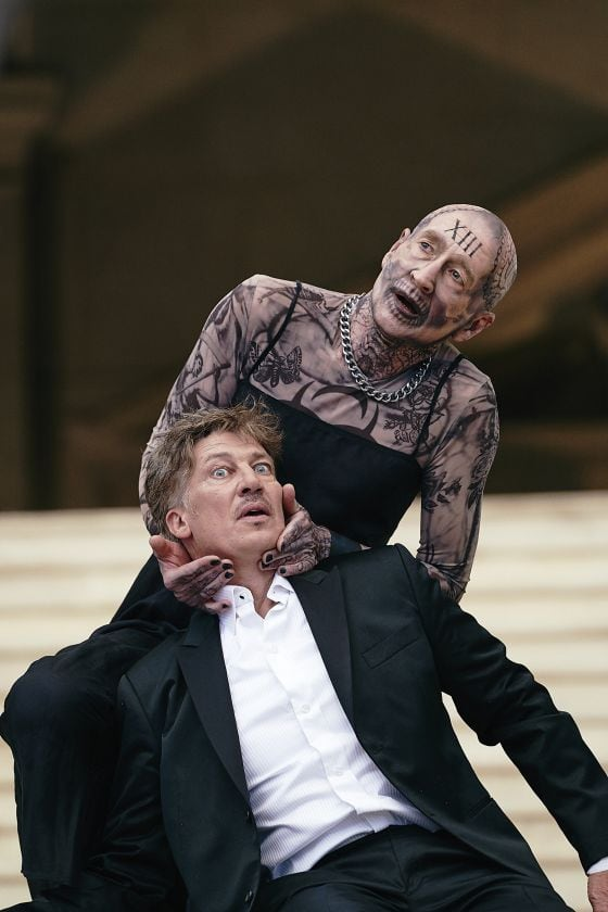Salzburg Festival 2018 Jedermann Everyman Tobias Moretti Death Peter Lohmeyer