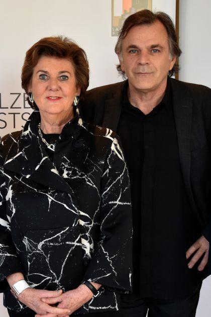 Helga Rabl-Stadler Festspielpräsidentin Markus Hinterhäuser Intendant