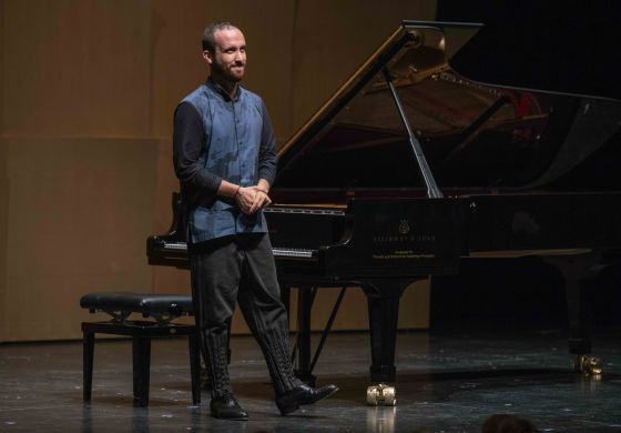 Igor Levit Pianist Solistenkonzert Salzburger Festspiele