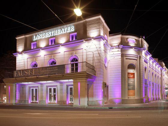 Salzburger Landestheater Nacht