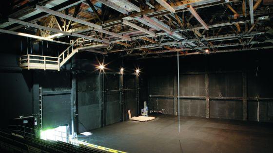 Perner Insel Hallein stage auditorium