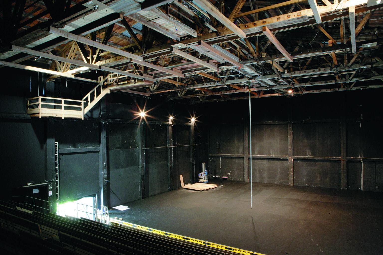 Perner Insel Hallein Bühne Zuschauerraum