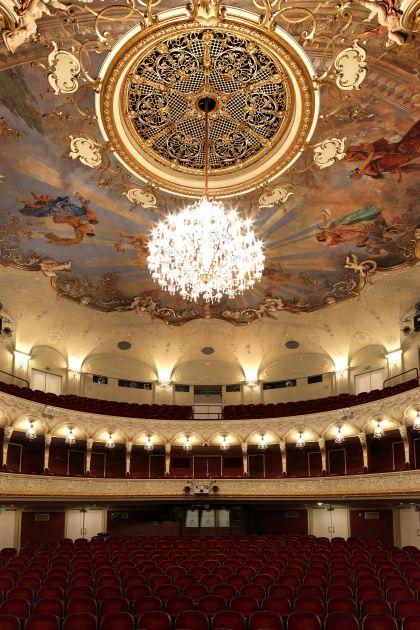 Salzburg State Theater Auditorium
