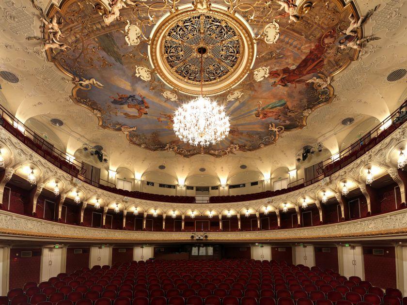 Salzburg State Theater Auditorium