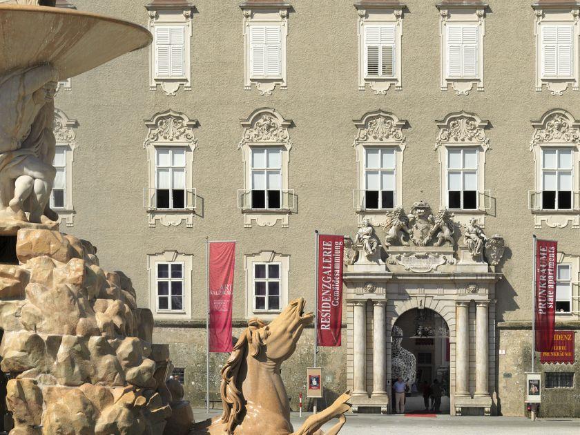 Salzburg Residenz Palace: Old Residenz Palace