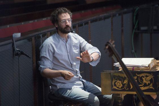 Dirigent Gianluca Capuano