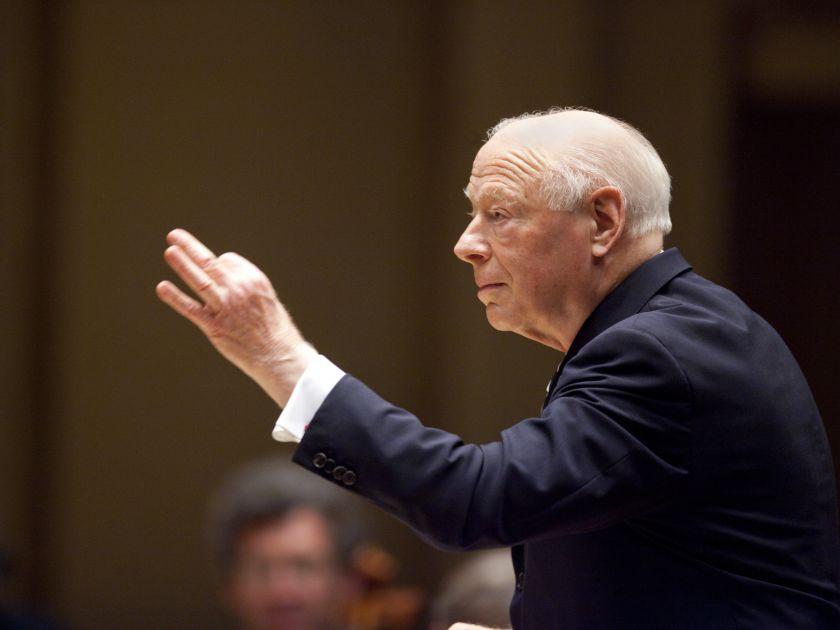 Conductor Bernard Haitink