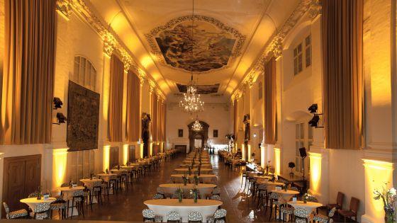 Salzburg Residenz Palace Carabinierisaal