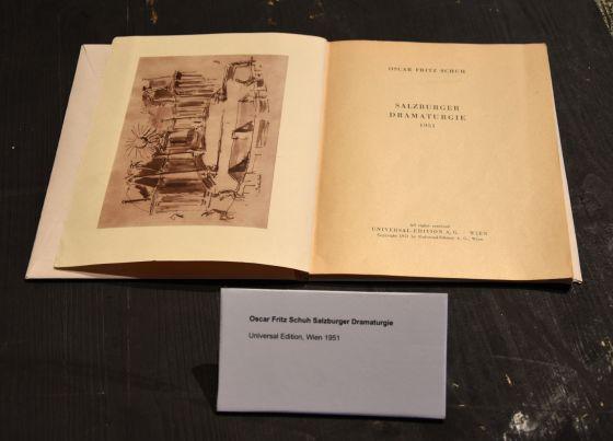 Oscar Fritz Schuh Ausstellung Grosses Welttheater 100 Jahre Salzburger Festspiele