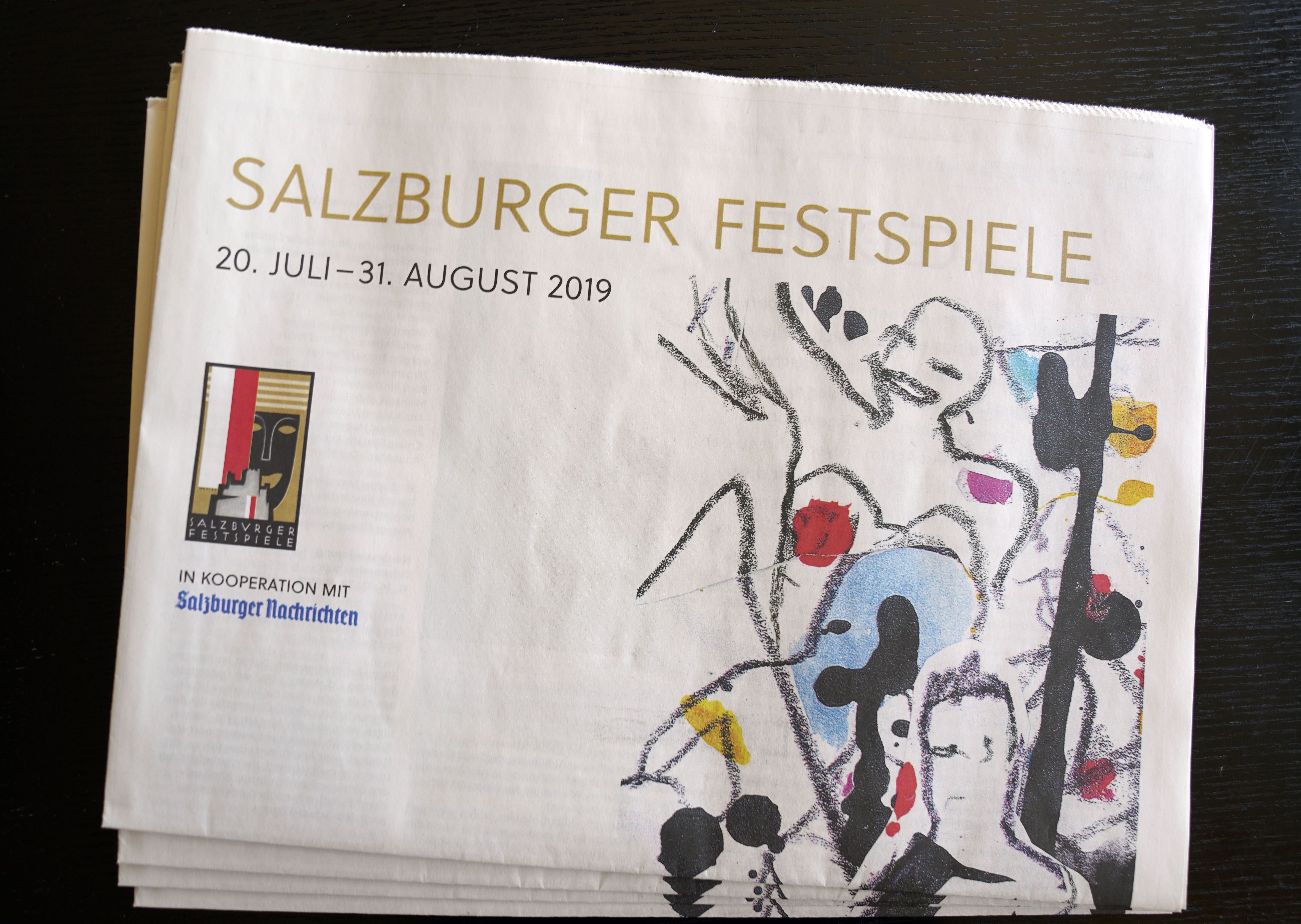 Festspielbeilage Salzburger Nachrichten