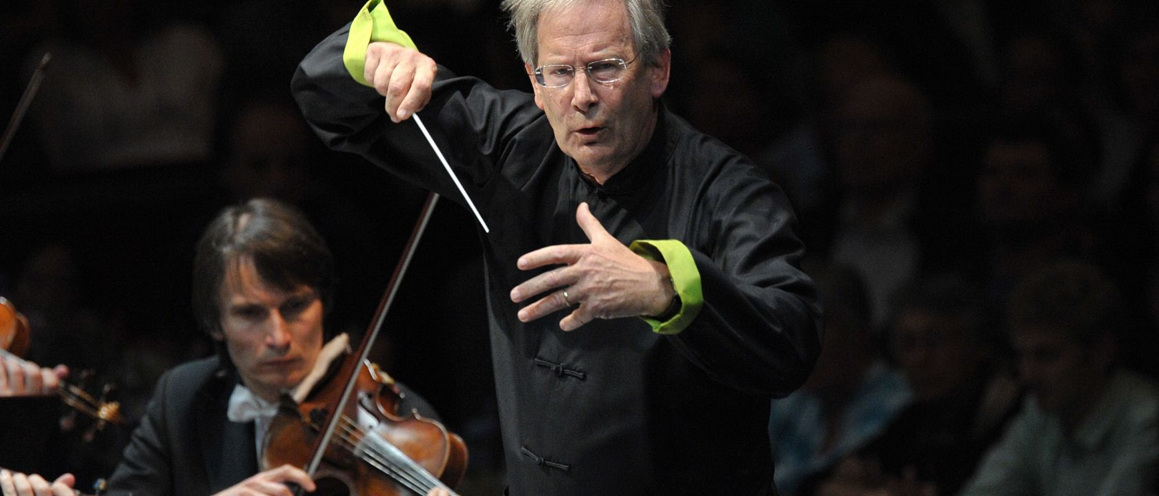 Conductor John Eliot Gardiner