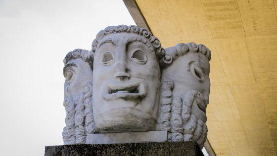 Salzburger Festspiele Maskensäule