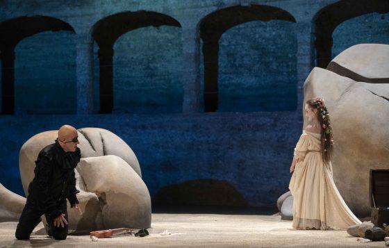 Oper Polifemo Pavel Kudinov Dilyara Idrisova Salzburger Festspiele Pfingsten