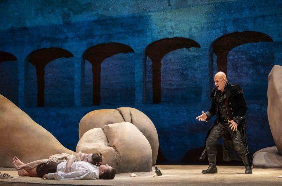 Dilyara Idrisova Yuriy Mynenko Pavel Kudinov Oper Polifemo Salzburger Festspiele Pfingsten