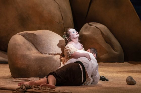 Oper Polifemo Dilyara Idrisova Yuriy Mynenko Salzburger Festspiele