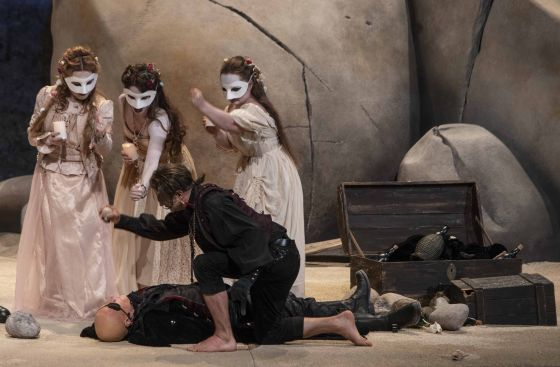 Oper Polifemo Julia Lezhneva Sonja Runje Dilyara Idrisova Max Emanuel Cencic Pavel Kudinov Salzburger Festspiele