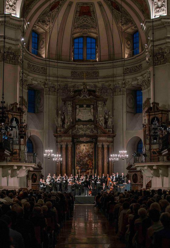 Monteverdi Choir English Baroque Soloists John Eliot Gardiner Dirigent Salzburg Whitsun Festival