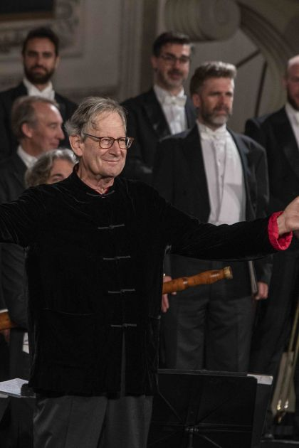 Cathedral Concert Monteverdi Choir English Baroque Soloists John Eliot Gardiner Dirigent Salzburg Whitsun Festival