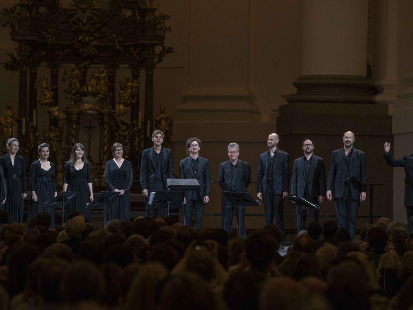 Kirchenkonzert Stabat Mater The Tallis Scholars Peter Phillips Salzburger Festspiele