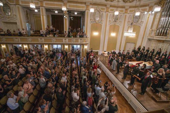 Concert La morte d'Abel Salzburg Whitsun Festival