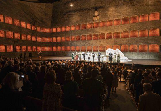 Oper Polifemo Salzburger Festspiele Pfingsten
