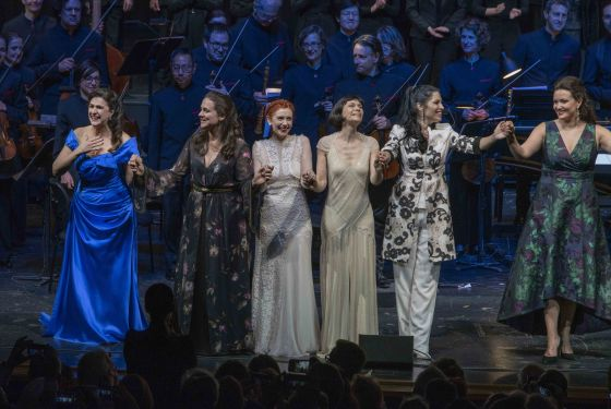 Gala Konzert Cecilia Bartoli Nuria Rial Patricia Petibon Sandrine Piau Vivica Genaux Julie Fuchs Salzburger Festspiele
