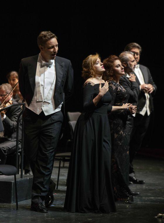 Ricardo Bojórquez Valentina Pluzhnikova Alina Adamski Josh Lovell Adriana Lecouvreur Salzburger Festspiele 2019