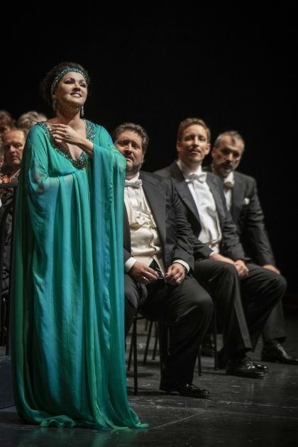 Anna Netrebko Adriana Lecouvreur Salzburger Festspiele 2019