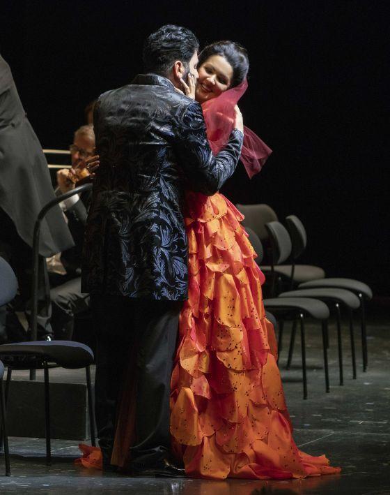 Anna Netrebko Yusif Eyvazov Adriana Lecouvreur Salzburger Festspiele 2019