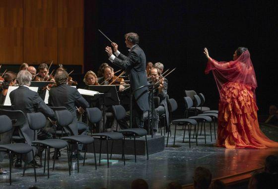 Anna Netrebko Marco Armiliato Mozarteumorchester Salzburg Adriana Lecouvreur Salzburger Festspiele 2019