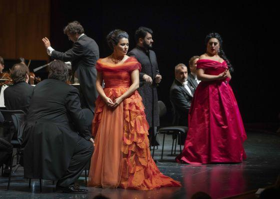 Anita Rachvelishvili Anna Netrebko Adriana Lecouvreur Salzburger Festspiele 2019