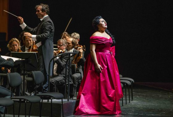 Anita Rachvelishvili Adriana Lecouvreur Salzburger Festspiele 2019