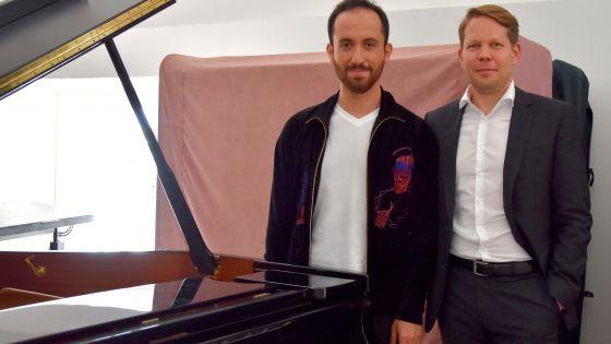 Florian Wiegand und Igor Levit