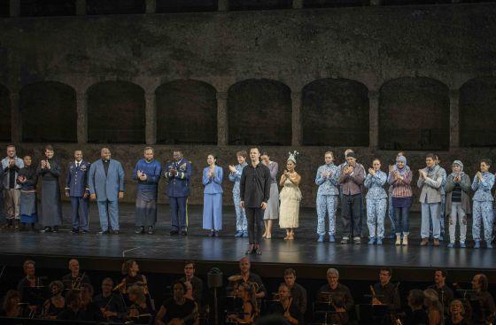Idomeneo Schlussapplaus Salzburger Festspiele 2019